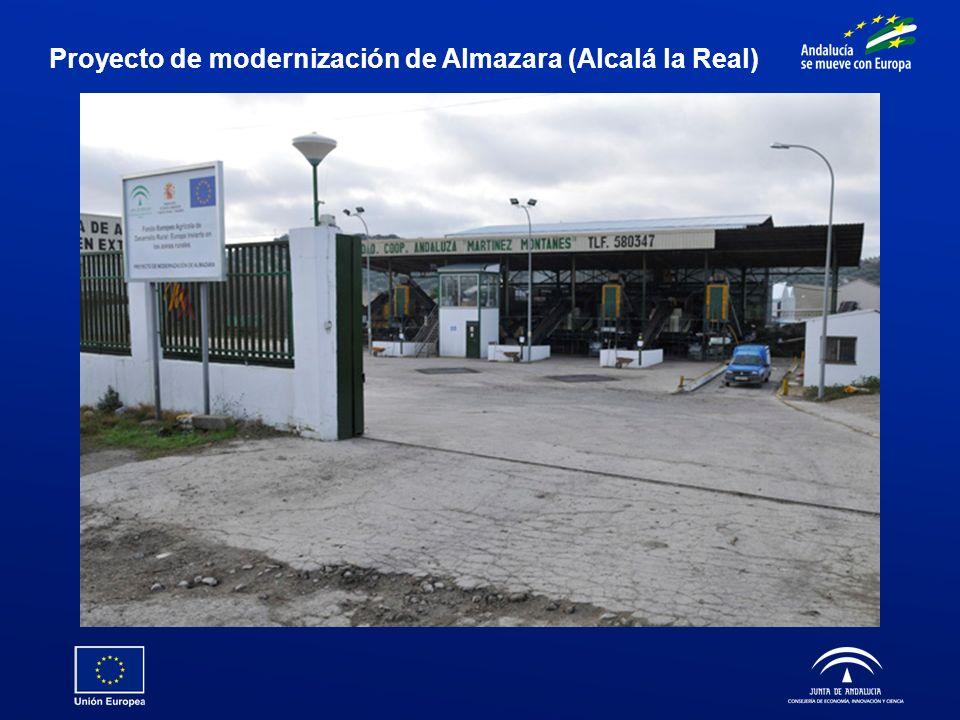 Proyecto de modernización de Almazara (Alcalá la Real)