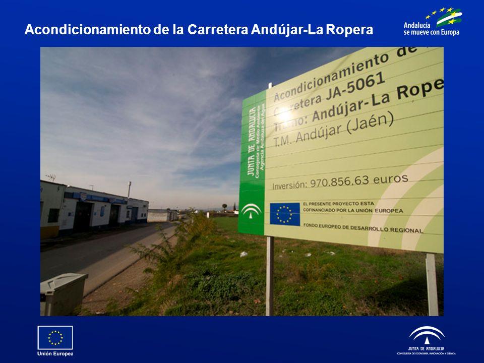 Acondicionamiento de la Carretera Andújar-La Ropera