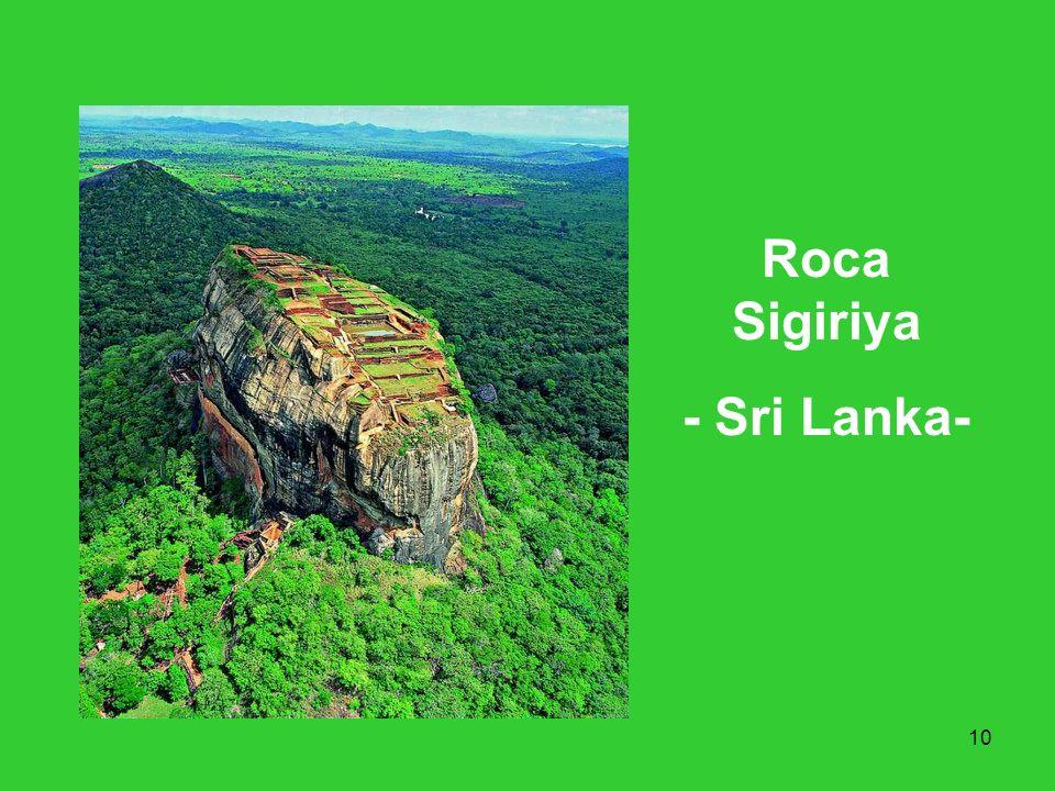 10 Roca Sigiriya - Sri Lanka-