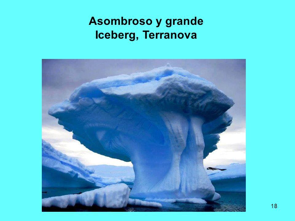 18 Asombroso y grande Iceberg, Terranova