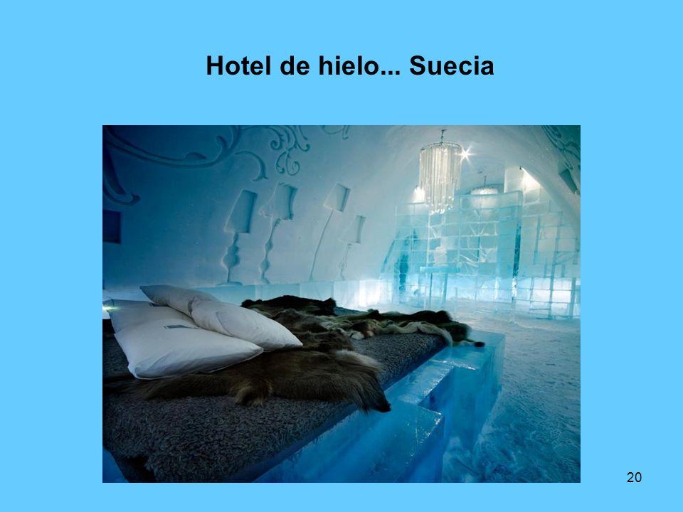 20 Hotel de hielo... Suecia