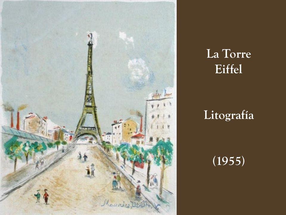 Montmartre en la Nieve (1950)