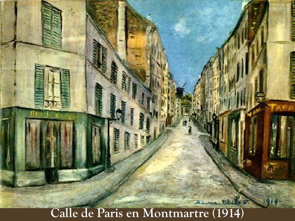 Calle de Paris en Montmartre (1914)