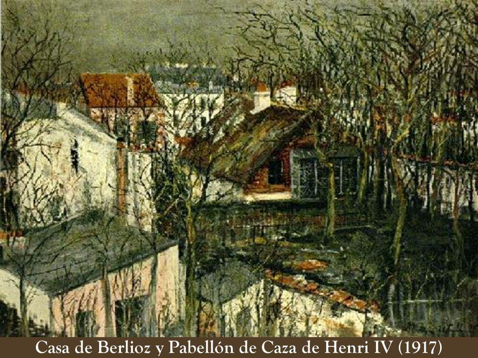 Casa de Berlioz y Pabellón de Caza de Henri IV (1917)