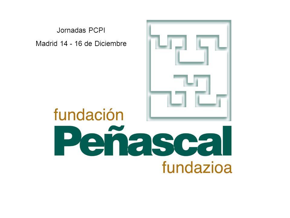 Jornadas PCPI Madrid 14 - 16 de Diciembre