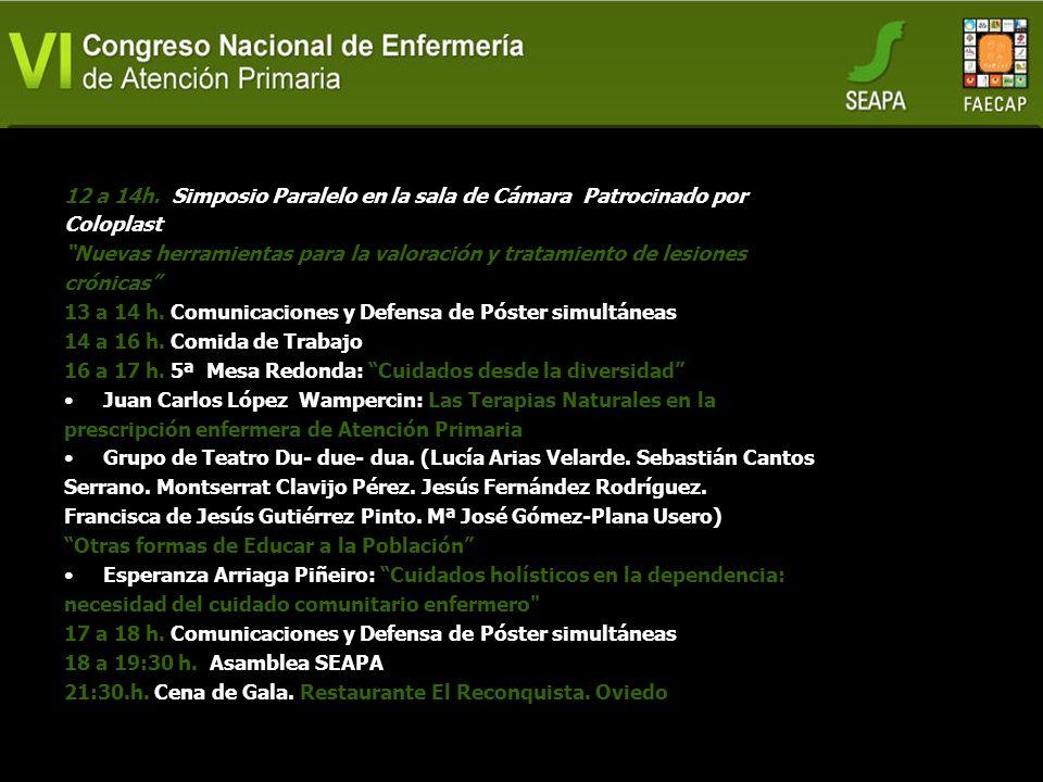 DIA 2 Viernes 9:30 a 10:30 h. 3ª Mesa Redonda: Avanzando en calidad para la seguridad de la población José Rodríguez Escobar: Excelencia clínica y cui