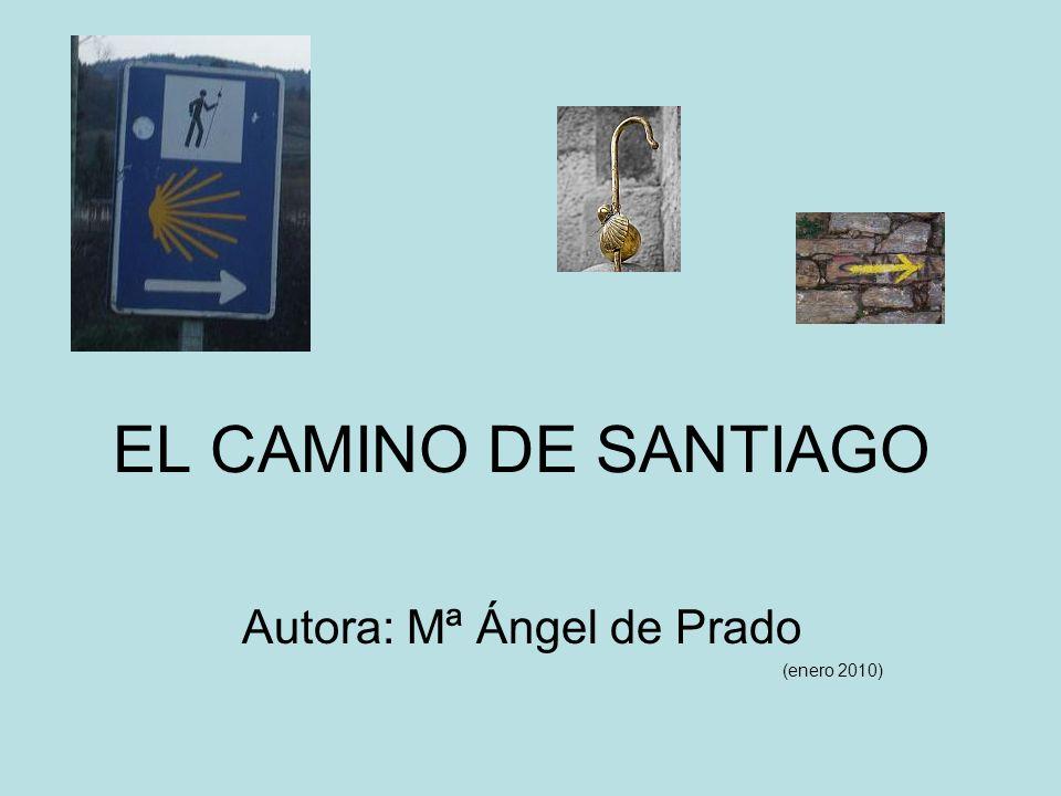 EL CAMINO DE SANTIAGO Autora: Mª Ángel de Prado (enero 2010)