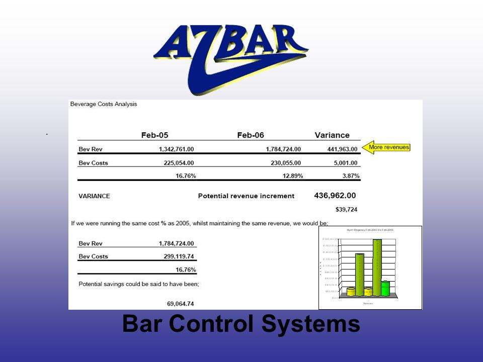 Bar Control Systems.