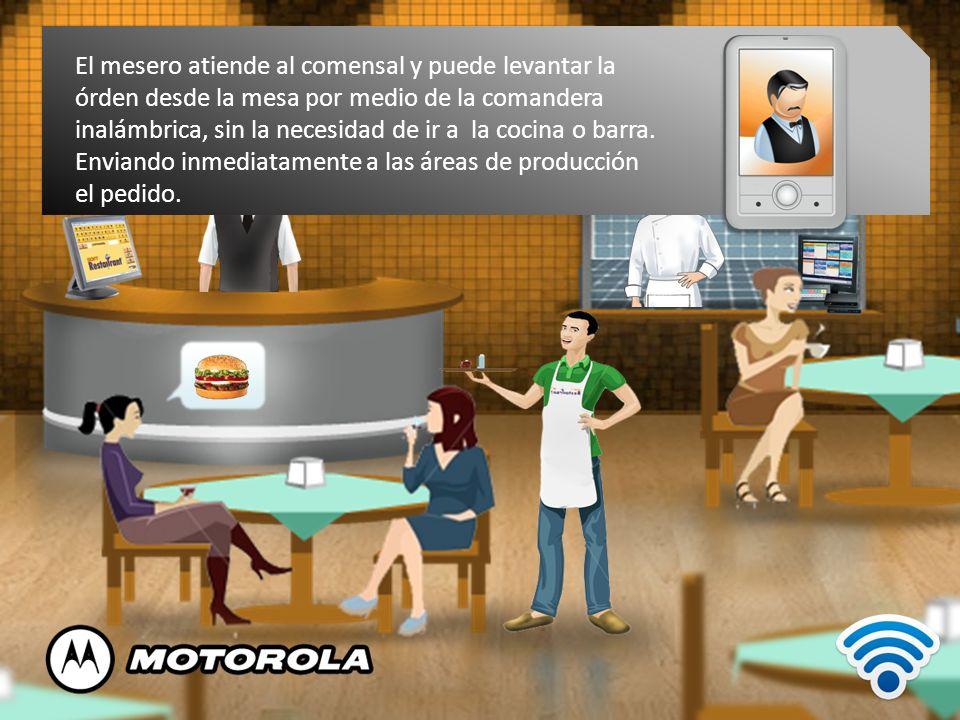 Soft Restaurant® Móvil es la manera más rápida y fácil de levantar pedidos.