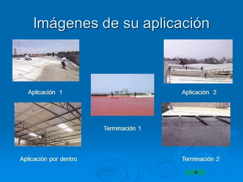 Imágenes de su aplicación Aplicación 1 Aplicación 2 Aplicación por dentro Terminación 2 Terminación 1