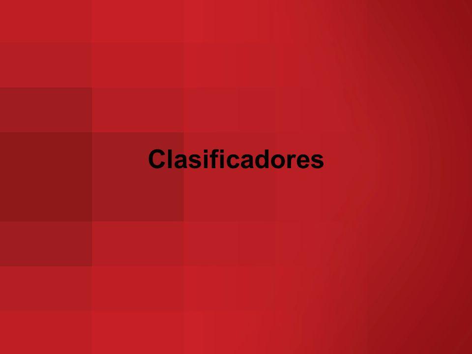 Clasificadores