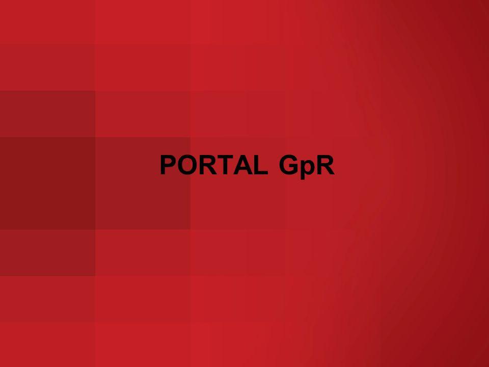 PORTAL GpR