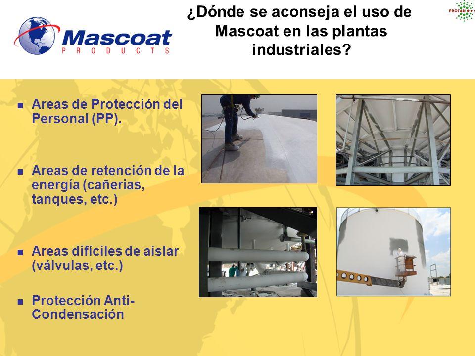 Areas de Protección del Personal (PP). Areas de retención de la energía (cañerias, tanques, etc.) Areas difíciles de aislar (válvulas, etc.) Protecció