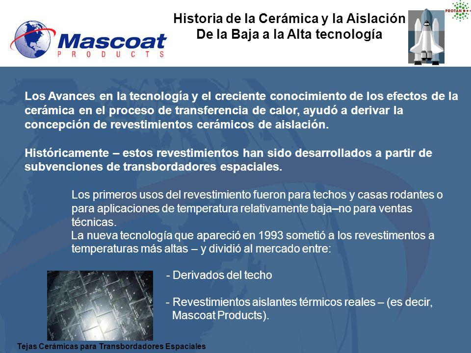 Los Avances en la tecnología y el creciente conocimiento de los efectos de la cerámica en el proceso de transferencia de calor, ayudó a derivar la con