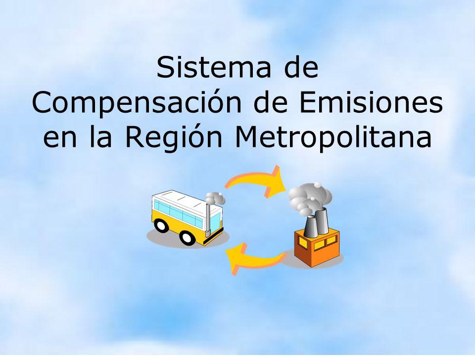 Marcelo Fernández, Conama RM Sistema de Compensación de Emisiones en la Región Metropolitana