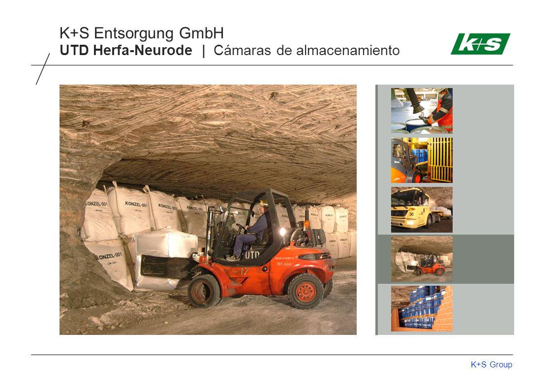 K+S Group K+S Entsorgung GmbH UTD Herfa-Neurode | Cámaras de almacenamiento