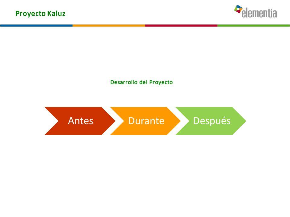 Proyecto Kaluz Principales Problemas: El desarrollo de las labores de la comunidad estudiantil y docente, se generaba en un entorno deficiente, a causa del mal estado en que se encontraba parte importante de las instalaciones escolares.