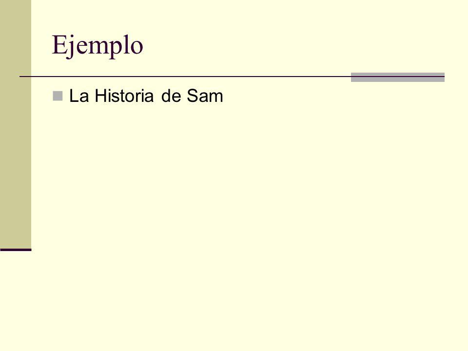 Ejemplo La Historia de Sam