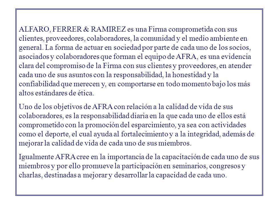 Introducción Por Lic. Enna Ferrer de Carles, socia de la Firma Compromiso con la Responsabilidad Social Empresarial