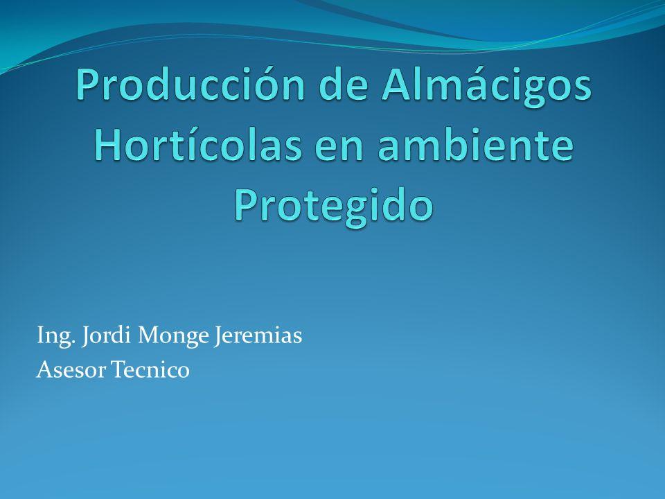 Ing. Jordi Monge Jeremias Asesor Tecnico
