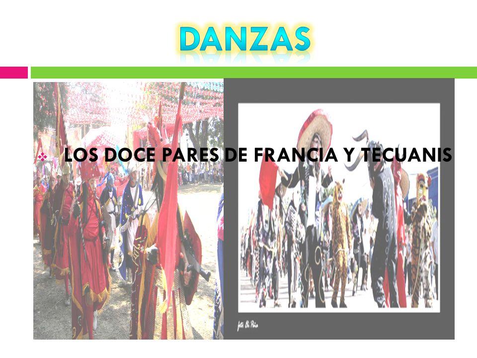 LOS DOCE PARES DE FRANCIA Y TECUANIS