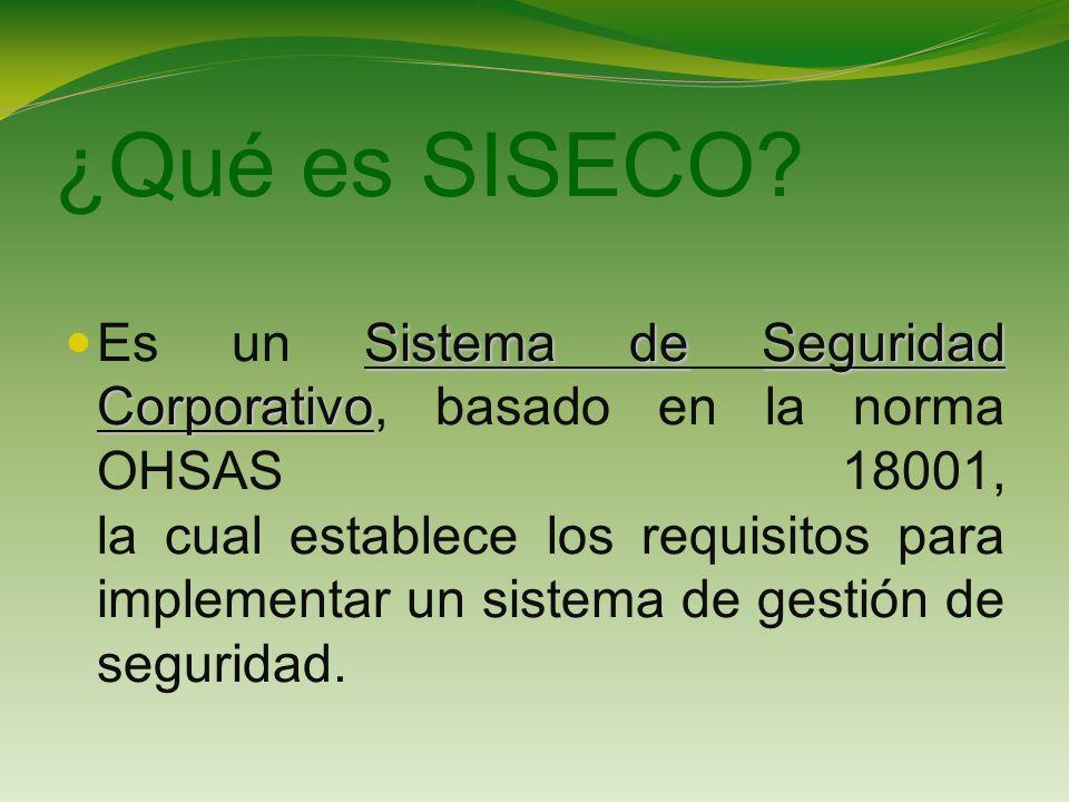 ¿Qué es SISECO.