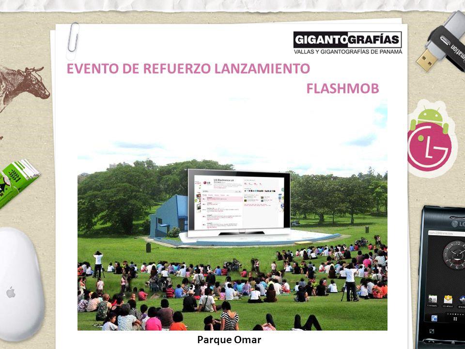 FLASHMOB EVENTO DE REFUERZO LANZAMIENTO Parque Omar