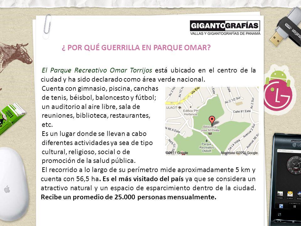 El Parque Recreativo Omar Torrijos está ubicado en el centro de la ciudad y ha sido declarado como área verde nacional.