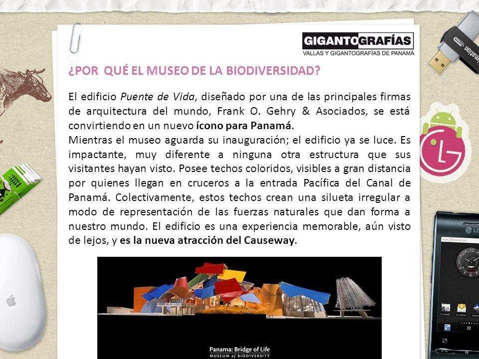 ¿POR QUÉ EL MUSEO DE LA BIODIVERSIDAD.