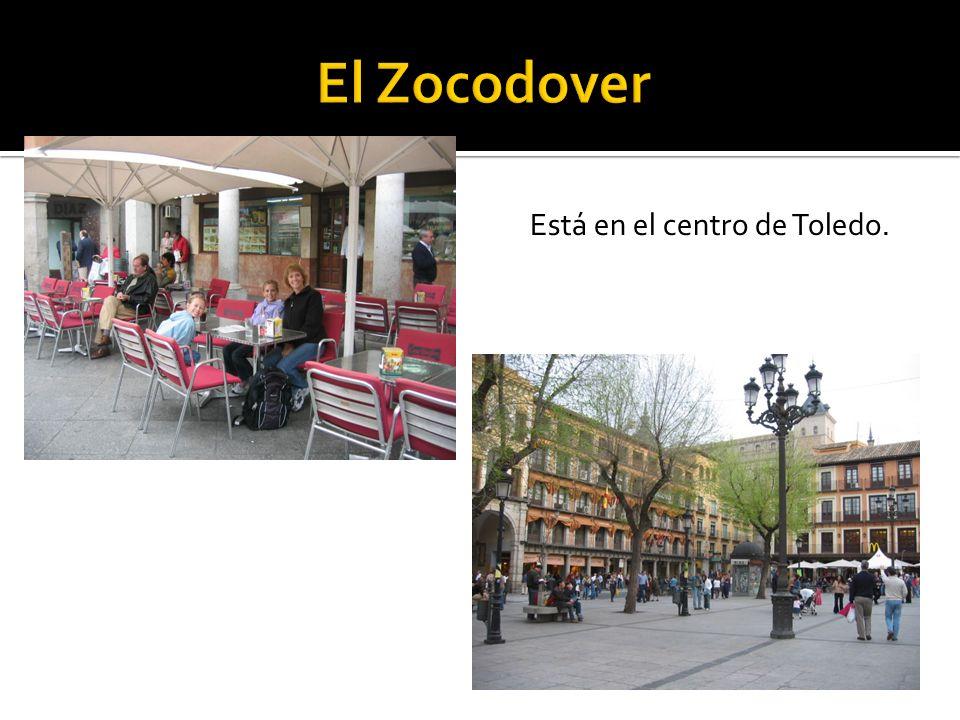 Está en el centro de Toledo.
