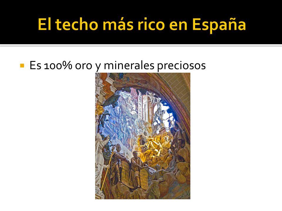 Es 100% oro y minerales preciosos
