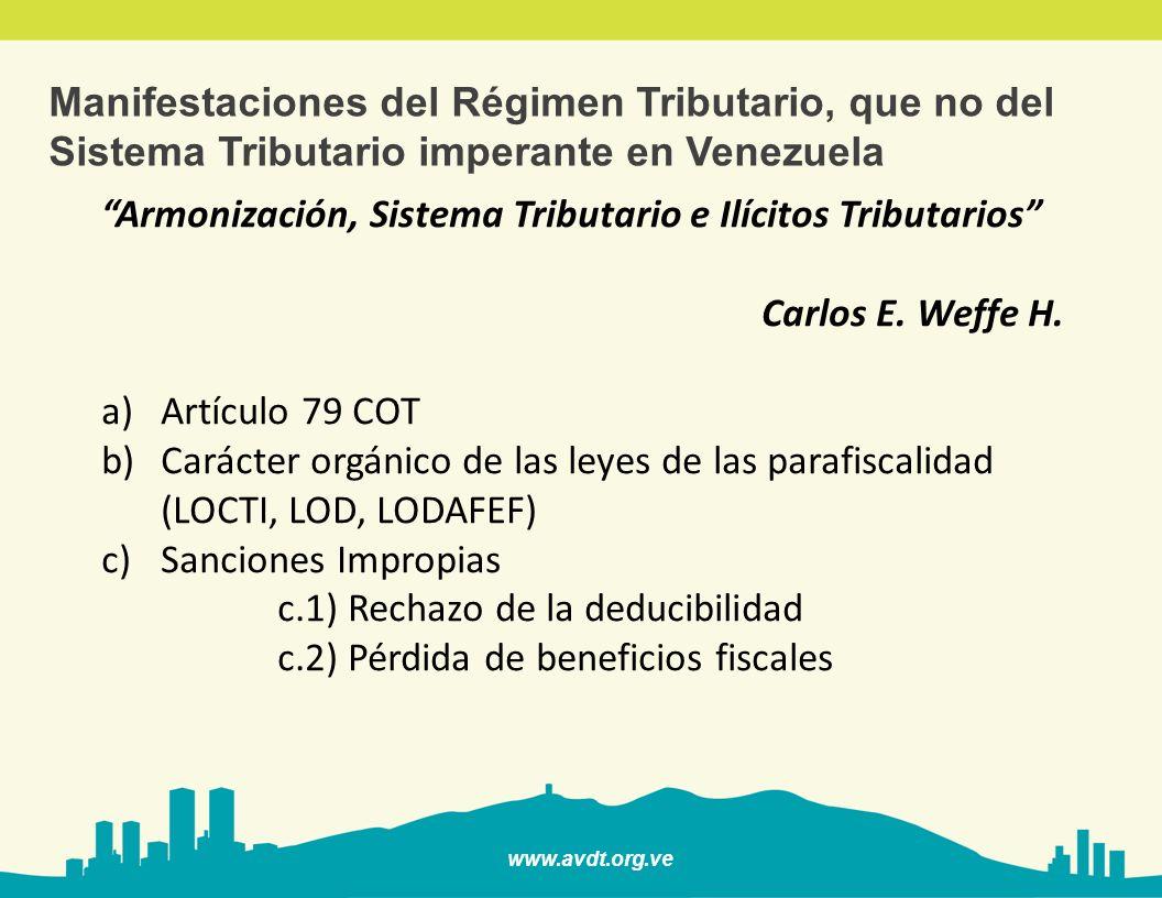 www.avdt.org.ve ¿Nuevos actores en el Ámbito Tributario.