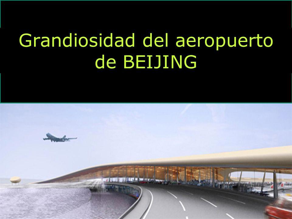 1 Grandiosidad del aeropuerto de BEIJING