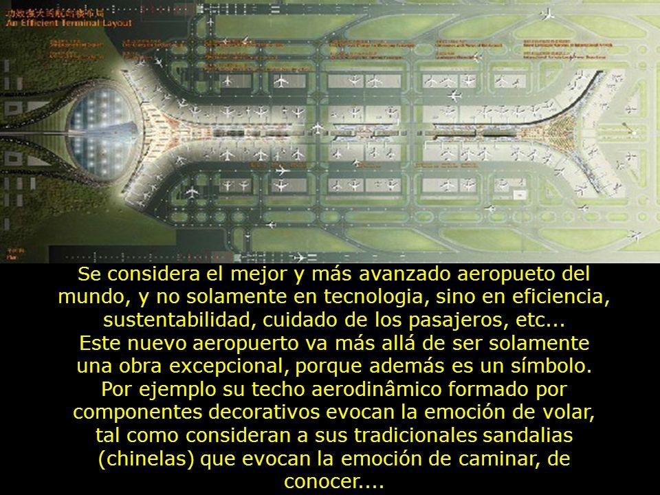 Se considera el mejor y más avanzado aeropueto del mundo, y no solamente en tecnologia, sino en eficiencia, sustentabilidad, cuidado de los pasajeros, etc...