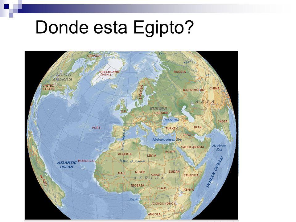 Donde esta Egipto?