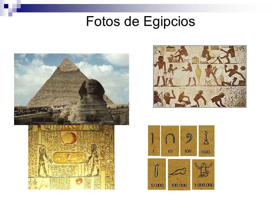 Fotos de Egipcios
