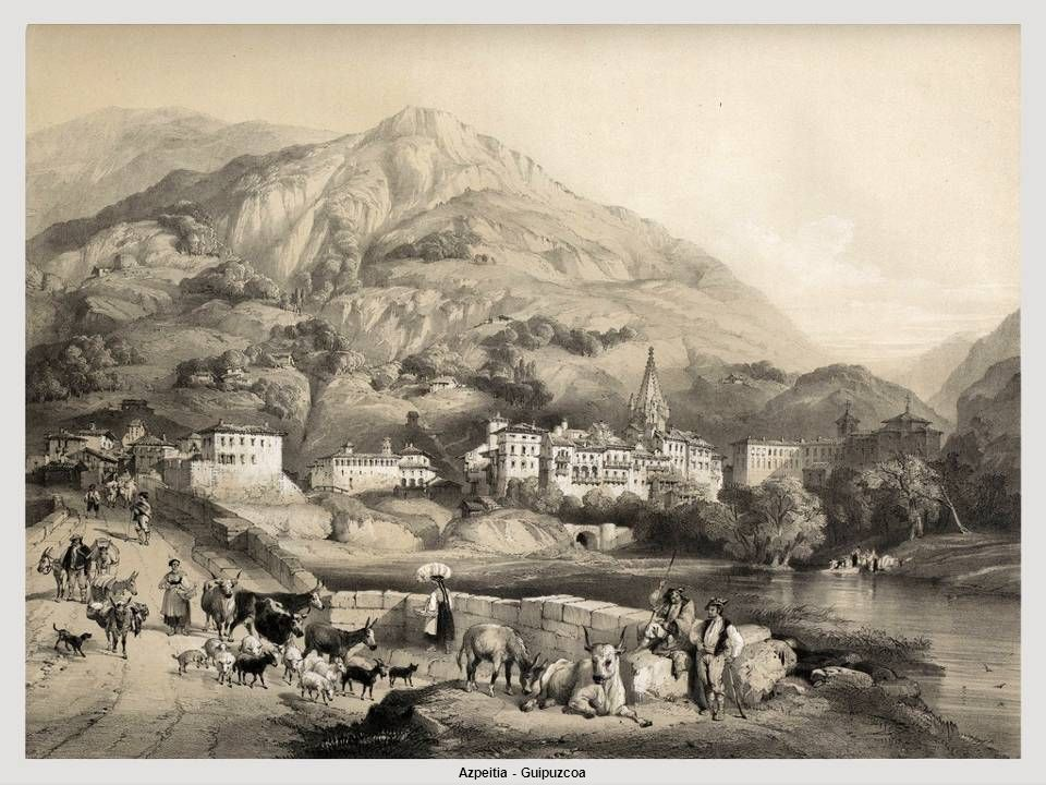 Realizó varios viajes por España en compañía del pintor romántico inglés David Roberts, buscando los paisajes y escenas pintorescas que integrarían la