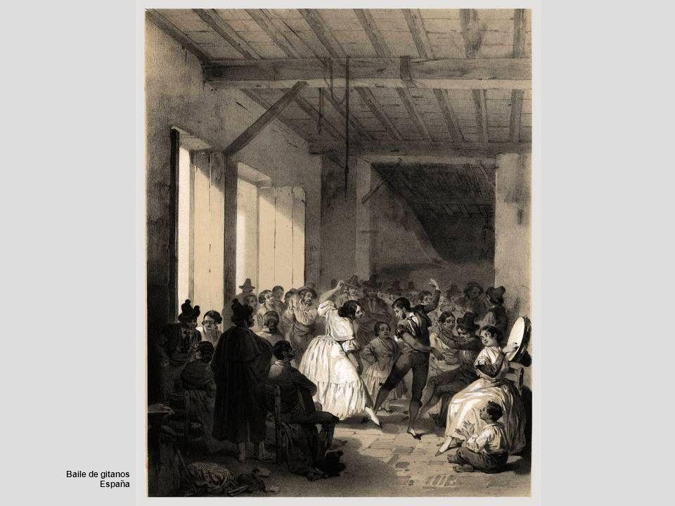 Baile de gitanos España