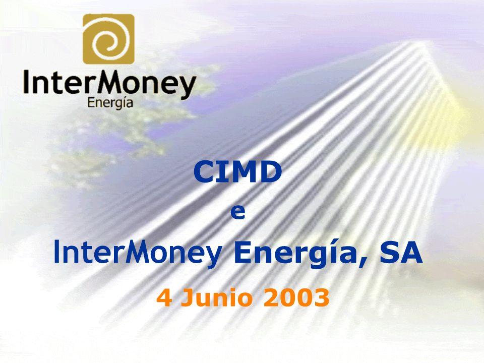 CIMD e InterMoney Energía, SA 4 Junio 2003