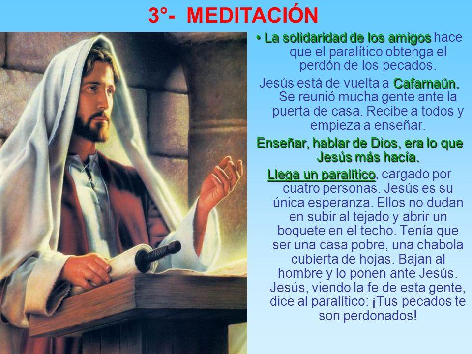 3°- MEDITACIÓN los cinco conflictos presentes en el evangelio de Marcos: He aquí el esquema de los cinco conflictos presentes en el evangelio de Marco