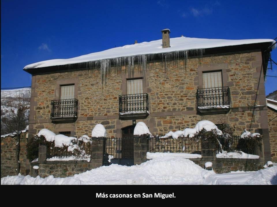 Más casonas en San Miguel.