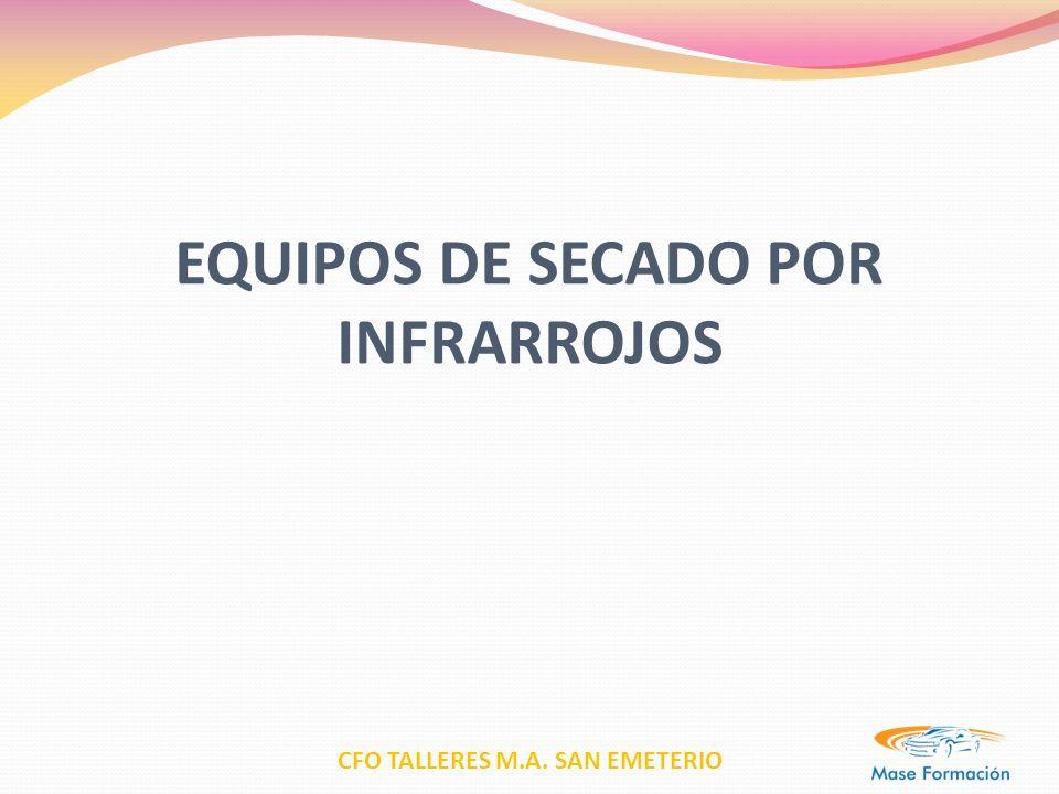 CFO TALLERES M.A. SAN EMETERIO EQUIPOS DE SECADO POR INFRARROJOS