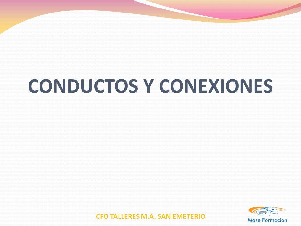 CFO TALLERES M.A.SAN EMETERIO CARACTERISTICAS Tubos flexibles.