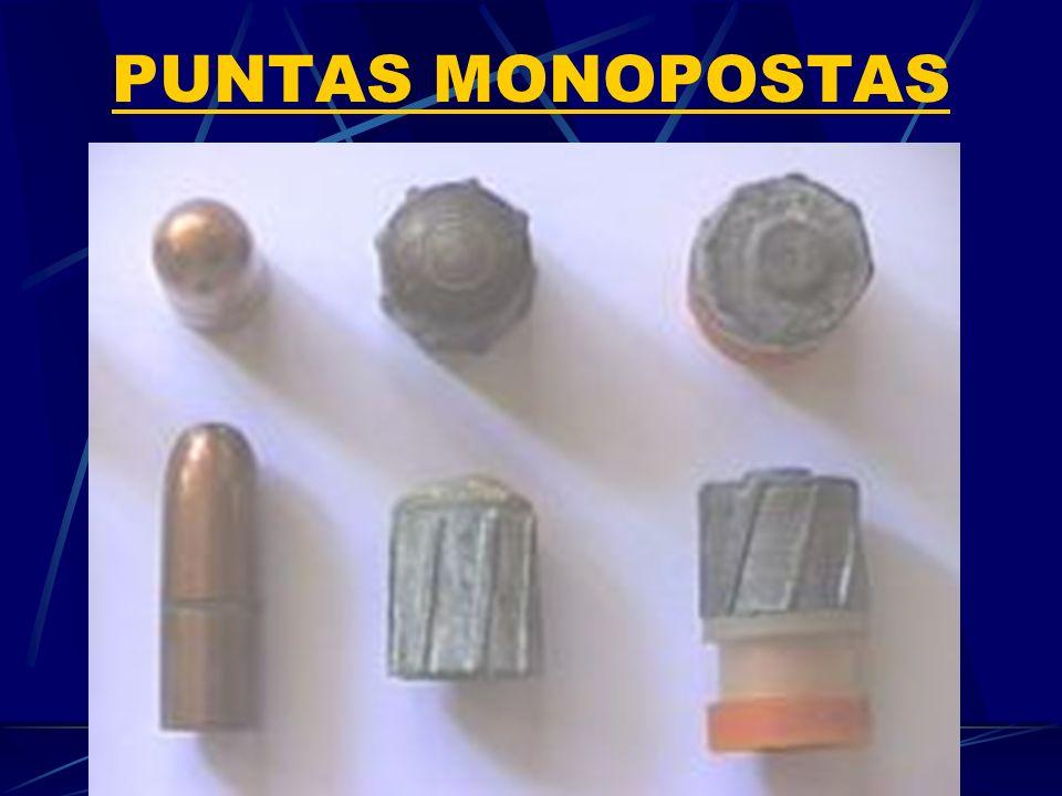 PUNTAS MONOPOSTAS