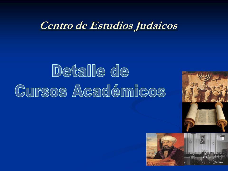 Curso: Judaismo como Forma de Vida 1.Identidad personal y nacional 2.