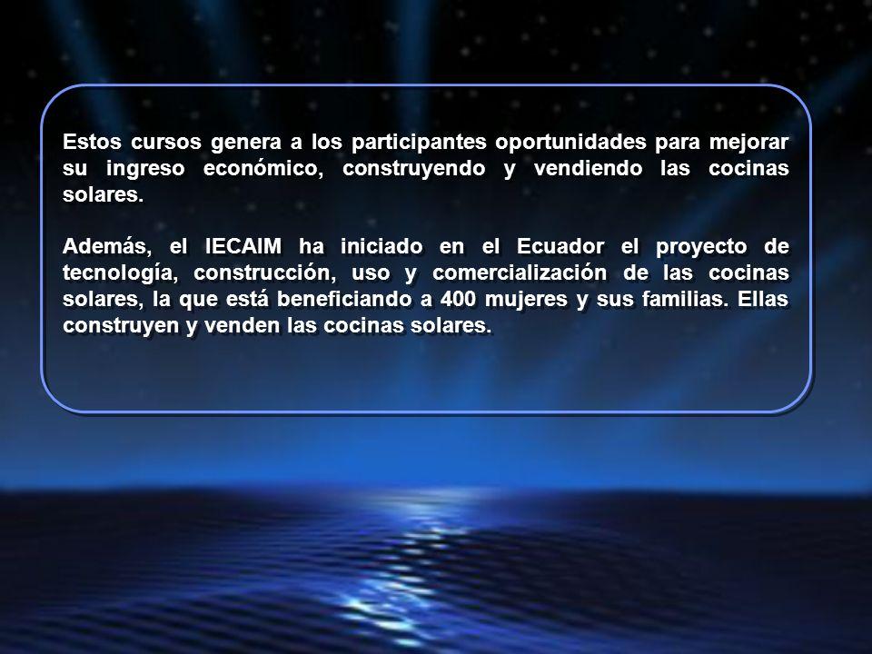 El Instituto Ecuatoriano para la Investigación y Capacitación de la Mujer, IECAIM, organizó diferentes cursos para profesores.