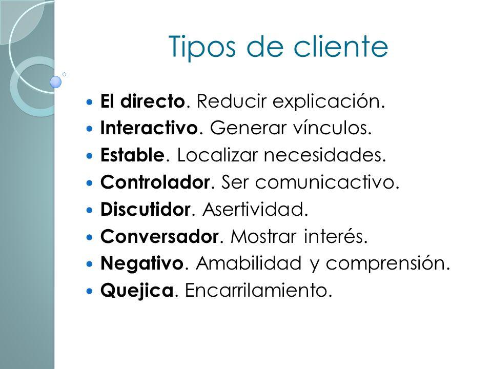 La entrevista Prioridad al atendido. Auto-presentarse. Usar el nombre del cliente. Preguntar y escuchar. Dar la bienvenida y presentar los servicios.