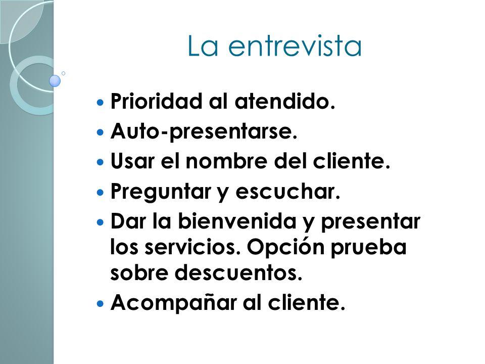 La entrevista inicial. Obtener información sobre el cliente: Hábitos de entrenamiento. Alimentación. Trabajo & cotidianos. Quién habla es el cliente (