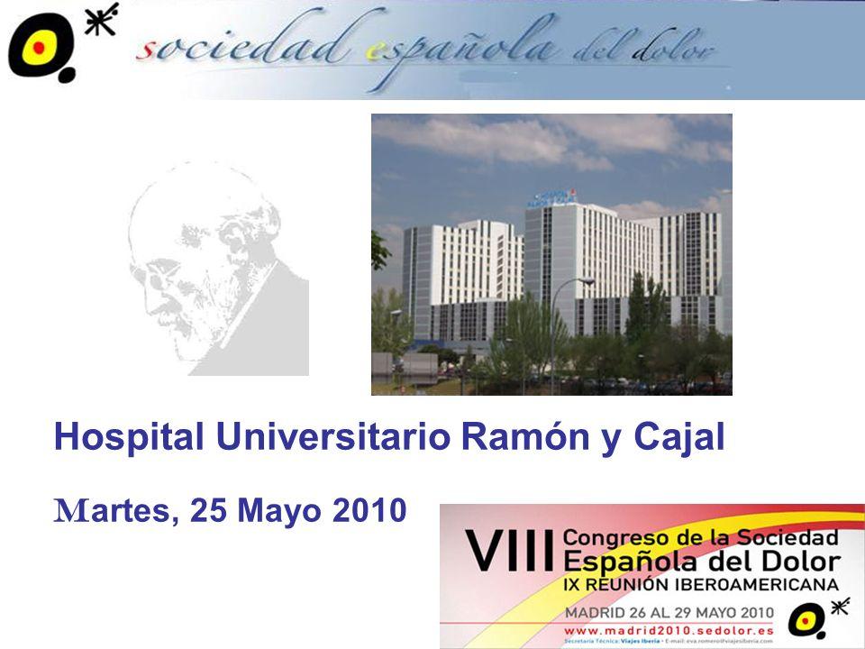 Dirigido a: Miembros de la Sociedad Española del Dolor que estén interesados o practiquen medicina intervencionista para el tratamiento del dolor.