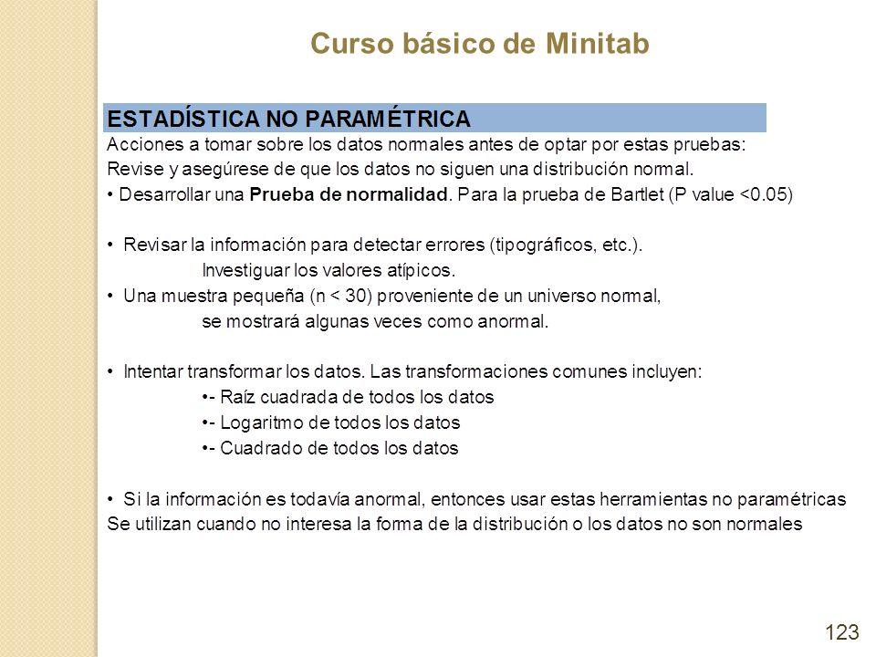 Curso básico de Minitab 123